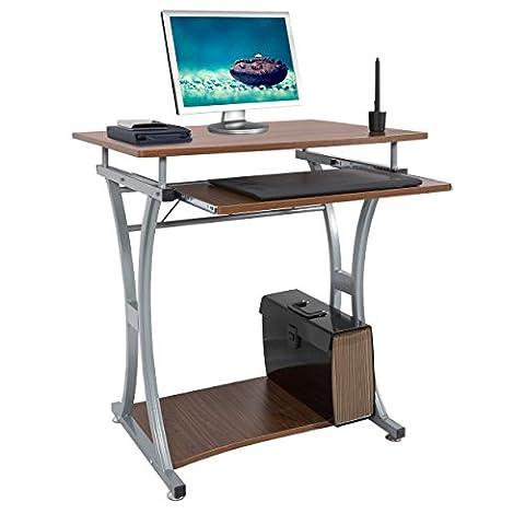 Harima - Millau Professionnel D'angle Poste de travail informatique / Table Informatique Meuble de bureau (Ufficio Noce Scrivania)