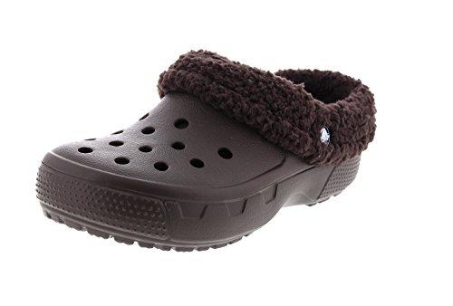 crocs Schuhe - Gefütterte Clogs Mammoth EVO - Espresso, Größe:45-46 EU