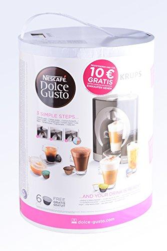 NESCAFÉ DOLCE GUSTO Oblo KP1101 Macchina per Caffè Espresso e altre bevande Manuale White di Krups 3