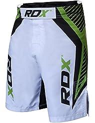 """RDX Fight Me - Pantalón corto para boxeo y deportes de contacto para hombre Talla:Large (33"""" -34"""")"""