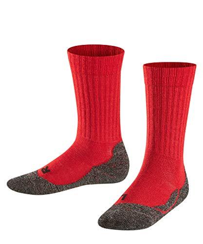 FALKE Kinder Socken Active Warm, 1 Paar , Rot (Fire8150) , 23-26