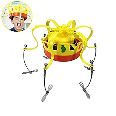 Roman Chow Couronne Jeu Musical Spinning Couronne Snacks Food Party Family Game Toy pour Les Enfants