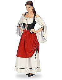 Moyen Âge - Robe Médiévale - Déguisement Servante Femme