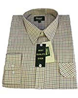 Hoggs of Fife Poly/Cotton Tattersall Shirt