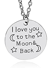 TBOP NECKLACE THE BEST OF PLANET Simple And Stylish Jewelry I Love You Fashion Letters Couple Pendant Necklace...