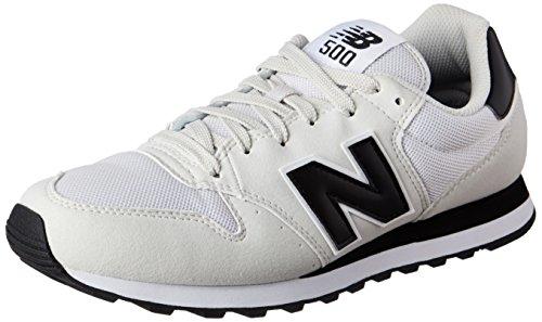New Balance NBM850WKGD12 M850 Running Shoe-M - Zapatillas para hombre, color blanco, talla 40.5, Blanco (Blanc (White/Green (111))), 44.5