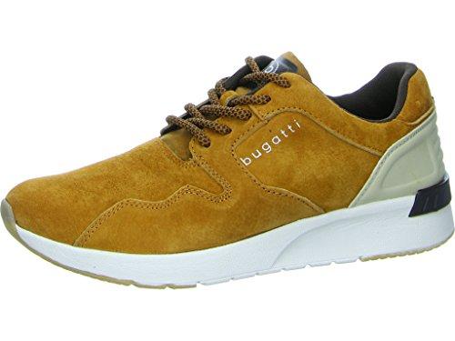bugatti Herren 341305047500 Sneaker Braun (Cognac)