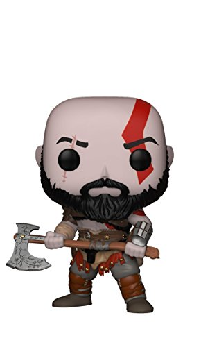 FunKo - Figurine Pop Vinyl- Games- God of War- Kratos, 27031