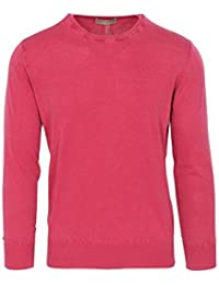 Cruciani Pull Homme Rose Taille Normale Cotton Casual 48 a2a61ea66a12