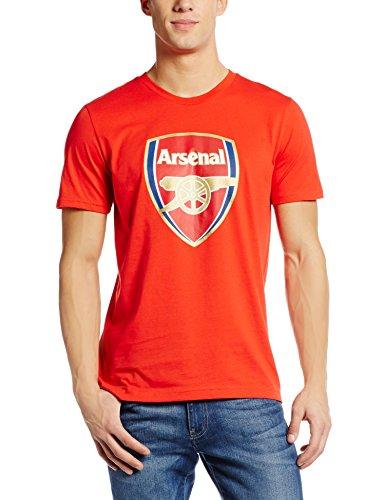 PUMA Herren T-shirt AFC Fan Tee-Crest Q3, high risk red, XXL, 749297 01