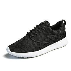 Idea Regalo - Uomo Scarpe da Corsa Sport Classica Stringata Sneaker Palestra Running Sneaker