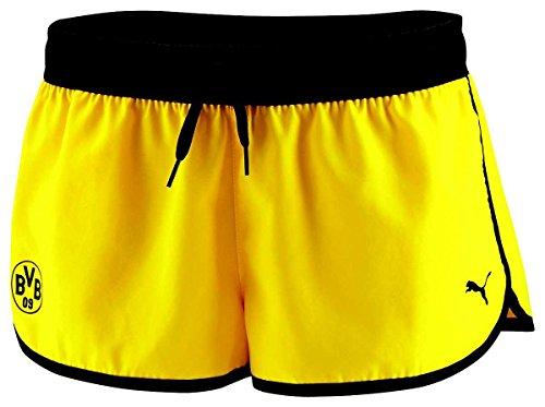 Puma BVB Hot Pants Damen Women Borussia Dortmund 09, Bekleidungsgröße:S