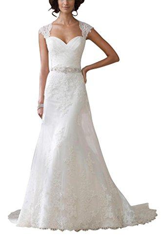 GEORGE BRIDE Neue Neckholder herzfoermiger Ausschnitt Brautkleider Hochzeitskleider