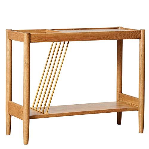 Klapptisch Chunlan Massivholz Sand Wohnzimmer Möbel Kreative Couchtisch 75 * 30 * 60cm (Farbe : A)