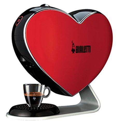 Bialetti Red Heart Espresso Cuore coffee machine. 012800010