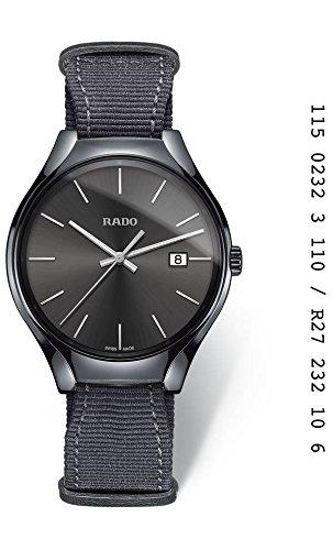 'Montre Rado de Homme en céramique gris,