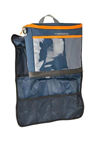 Campingaz Kühltasche Tropic 8L, Auto Rücksitz Organizer, Isoliertasche kühlt bis zu 11 Std, Isotasche mit Rückenlehnenschutz für Kinder