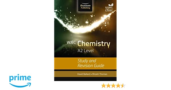 wjec chemistry for a2 study and revision guide amazon co uk david rh amazon co uk KS4 GCSE Chemistry Revision IGCSE Chemistry Revision