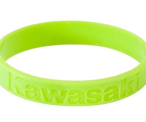 Preisvergleich Produktbild KAWASAKI Armband Silikon Armband Grün 186SPM0015 - Motorrad-Jankwitz