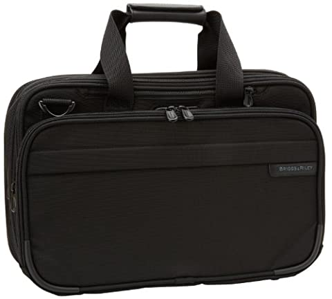 Briggs & Riley Baseline Expandable Cabin Bag, 40.2 Liters, Black