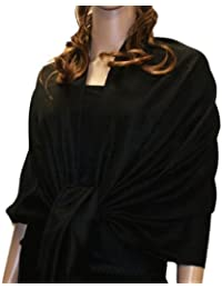 Fabelhafter grosser und weicher Paisley Schal Schultertuch Tuch HO02 von NYFASHION101.