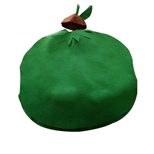 GEXING Halloween Fruchtform Kleidung Gemüse Formabnutzung Kinder Erwachsene Leistungskleidung,A-150-165CM