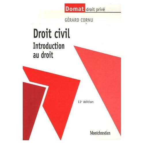 Droit civil : Introduction au droit