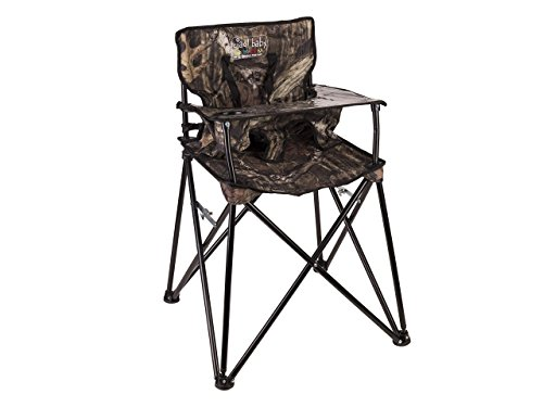 Hochstuhl Baby Portable Folding (ciao! baby Portable Highchair, Mossy Oak Infinity)