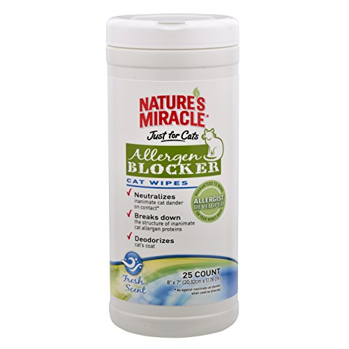 natures-miracle-natures-miracle-just-for-cats-allergen-blocker-cat-wipes-25-wipes-nm-5472
