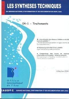Traitements (les Syntheses Techniques du Service National d'Information et de Documentation Sur l'Ea