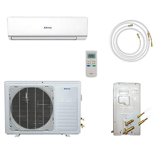 Airton Climatiseur réversible prêt à poser 2750W 9000 BTU pré-chargé en gaz (PAC AIR/AIR)  de...