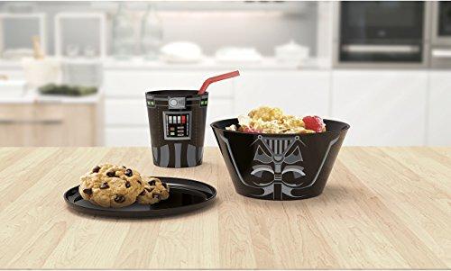 41 kQ2o%2BhKL - Disney Star Wars Darth Vader Stacking Meal Set (Red/Black)