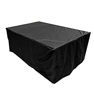 Aulola® Outdoor Protective Furniture Cover / Waterproof Dustproof Grill Cover Breathable Protection / Extra Large Design 213cm Length 132cm Width 74cm High For Patio Rattan Dining sets Cube Sets Sofa Sets and so on