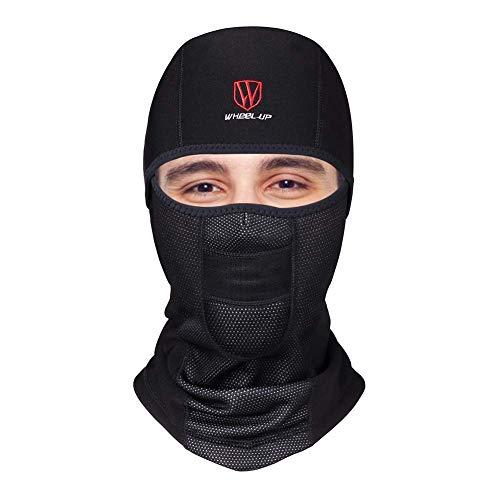 Balaclava Sturmhaube Winter Skimaske Gesichtsmaske Fahrrad Maske Radfahren Maske Herren Damen (Weicher Stoff)