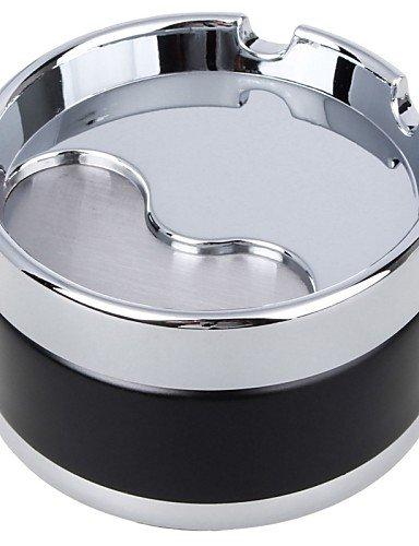 Preisvergleich Produktbild K-NVFA Mode europäischen Universal tragbaren Aschenbecher für Pkw-Nutzung (verschiedene Farben) , silver #-5378