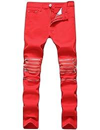 Suchergebnis auf für: biker jeans herren Rot