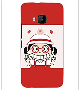 PrintDhaba Cartoon D-5461 Back Case Cover for HTC ONE M9S (Multi-Coloured)