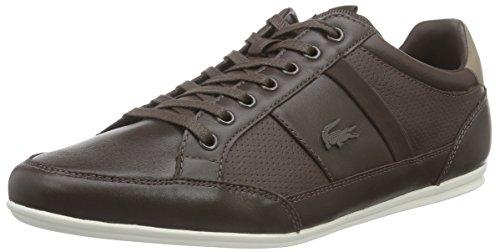 Lacoste Chaymon Prm US, Herren Sneakers, Braun (Dk BRW/Lt BRW 489), 41 EU (7.5 Herren UK) (Charme Sneaker-sohle)