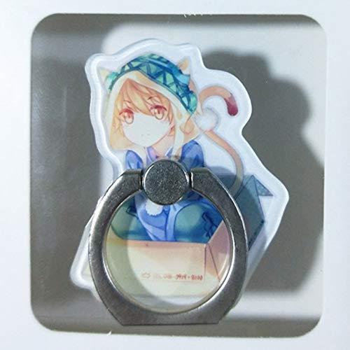 Haushele OFD 1 Stück Universal Noragami Aragoto Yato Handyhalter Ständer 360 Grad Acryl Fingerring Für Telefon Handy Unterstützung Figur Spielzeug(H06)