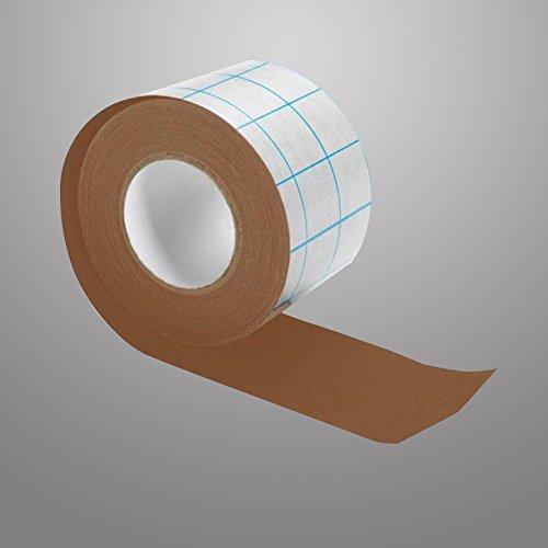 filmoplastr-t-adhesif-tissu-240-microns-sans-acide-brun-10m-x-5-cm