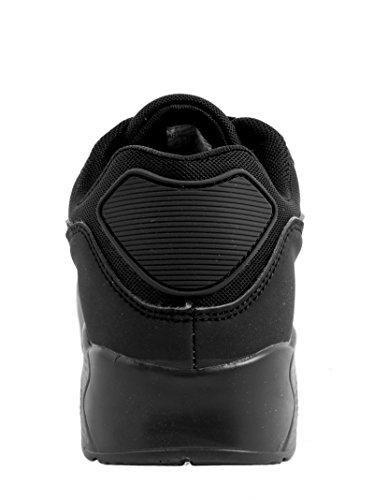 Elara Sneaker Unisex Alla Moda | Scarpe Da Corsa Sportive Per Bambini Da Uomo Donna | Scarpe Da Ginnastica Nero Santa Ana