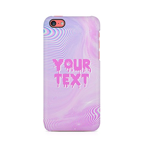 Custom Personalised Pastel Kawaii Tumblr Text, Create Your Own Case, Custom Quote Custodia Protettiva In Plastica Rigida Cover Per iPhone 5 / iPhone 5s / iPhone SE Case Trippy Quote