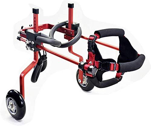 DBXOKK-Rollstuhl Hunderollstuhl Roller Behinderte Lähmung Hinterbeine Auto