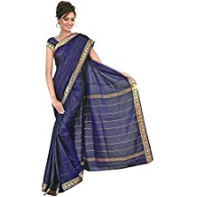 Indian Bollywood Sari Arco Iris Azul