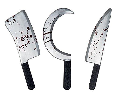 Boland - Juego de colegiala de plástico armas de miedo ,45 cm, Metal