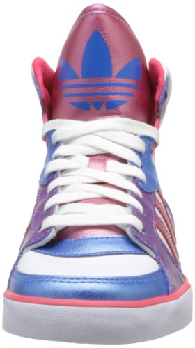 adidas Originals Amberlight W, Baskets mode femme Blanc (White/Ray Pink/Blue)