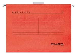 Jalema Euroflex Dossier suspendu Papier ministre (Rouge)