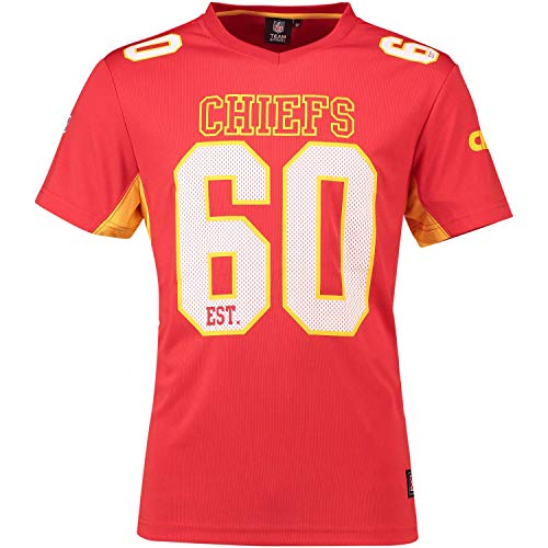 Jersey Tee (Majestic Athletic Kansas City Chiefs NFL Moro Poly Mesh Jersey Tee T-Shirt Trikot)