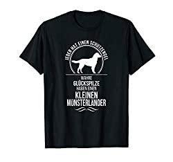 Kleiner Münsterländer Schutzengel Hunde T-Shirt Hund Shirt