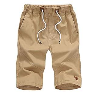 Cargo Shorts Herren Solide Baumwolle Tasche Draußen Beiläufig Arbeitsshorts